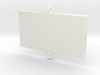 Baci Perugina Frame - Single in White Strong & Flexible Polished