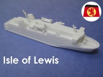 MV Isle of Lewis (1:1200) in White Strong & Flexible