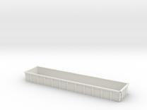O Scale Coalveyor Side Extensions in White Strong & Flexible