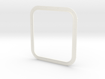 Frame Double 1 in White Strong & Flexible Polished