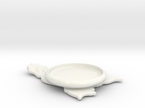 soap dish in Gloss White Porcelain