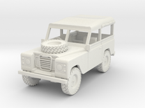 1/72 1:72 Scale Land Rover Soft Top in White Strong & Flexible