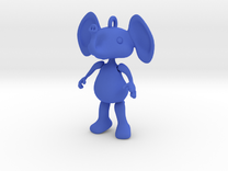 Dangly Elephant in Blue Strong & Flexible Polished