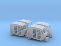 Auto Rickshaw / Tuk Tuk x4, OO-Scale 1:76 in Frosted Ultra Detail