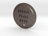 TLOU Pendant - Sean Tupas 081695 in Stainless Steel