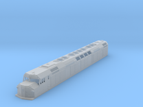 "N Scale F40DDPH ""A"" Unit w/Louvered Side Panels in Frosted Ultra Detail"