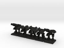 TA ARM Hammer Squad - 1cm tall in Black Acrylic