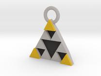 DeusEx Pendant V1 3,5cm full version in Full Color Sandstone