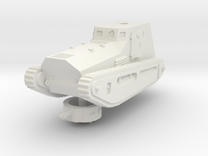 1/144 LK-II light tank in White Strong & Flexible