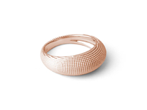 EYE Ring in 14k Rose Gold Plated: Medium