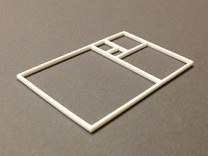 The Golden Rectangle in White Strong & Flexible