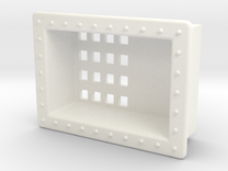 Seaking 30 X 22 Mesh Box in White Strong & Flexible Polished