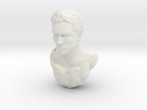 matt head sculpt  in White Strong & Flexible
