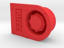 "1.5"" scale 7.5"" Gauge Diesel Fuel Filler GP Locomo in Red Strong & Flexible Polished"