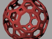 Truncated icosidodecahedron in White Strong & Flexible
