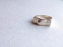 SandWave ring in Polished Silver