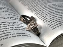 Slytherin Ring Size 8 in Stainless Steel