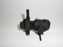 "3/4"" scale turbo generator for live steam in Black Strong & Flexible"