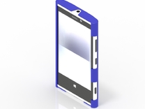 DD - Nokia Lumia 920 - Bumper in Blue Strong & Flexible Polished