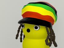 "MyKeepon ""Marley"" in Full Color Sandstone"