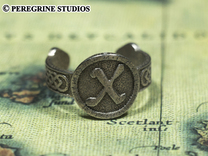 Ring - Gebo Rune (Size 13) in Stainless Steel