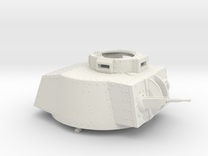 German Panzer 38t 1:18 Scale - Turret in White Strong & Flexible