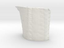 Radula, 1 million triangles, 5cm version in White Strong & Flexible