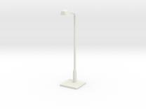 Modern urban lightpost in White Strong & Flexible