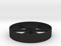 Flywheel_8ft in Black Acrylic