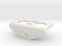 Sonar Servo Mount in White Strong & Flexible