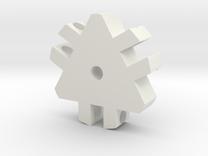 Tri-Hub in White Strong & Flexible