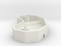 Reprap frame vertex mold in White Strong & Flexible