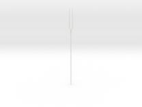 1/3 BJD Evangelion Fork of Destiny Doll Prop in White Strong & Flexible