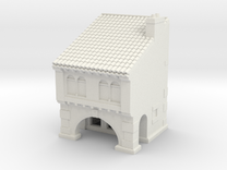 medieval house in White Strong & Flexible