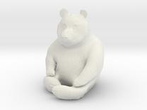 Panda Statuette in White Strong & Flexible