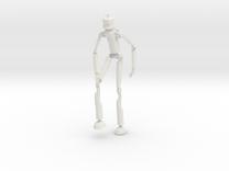 Robotman 15cm in White Strong & Flexible