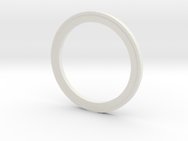 subwoofer ring in White Strong & Flexible