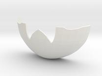 Mekki-Maru Scabbard Tip in White Strong & Flexible