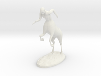 Centaur Figure in White Strong & Flexible