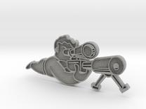SniperPin in Metallic Plastic