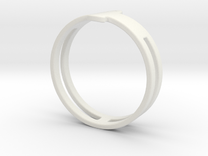 Customized Ring 1 in White Strong & Flexible
