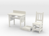 desk set in White Strong & Flexible