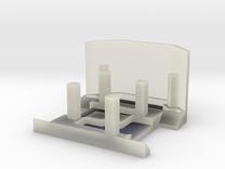 Deskpet Robot Body in Transparent Acrylic