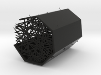 Variable visual density Mould in Black Strong & Flexible