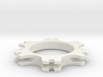 SB5 Brake Disc Guide in White Strong & Flexible