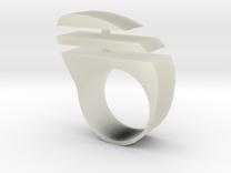 ringtiras1 in Transparent Acrylic