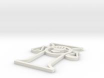 Arbitrator Symbol in White Strong & Flexible