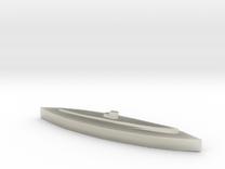 U-459 (Type XIV) 1:1800 in Transparent Acrylic