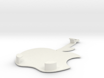iPhone 5/5s car holder in White Strong & Flexible