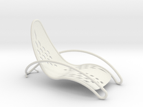Swoop Chair in White Strong & Flexible